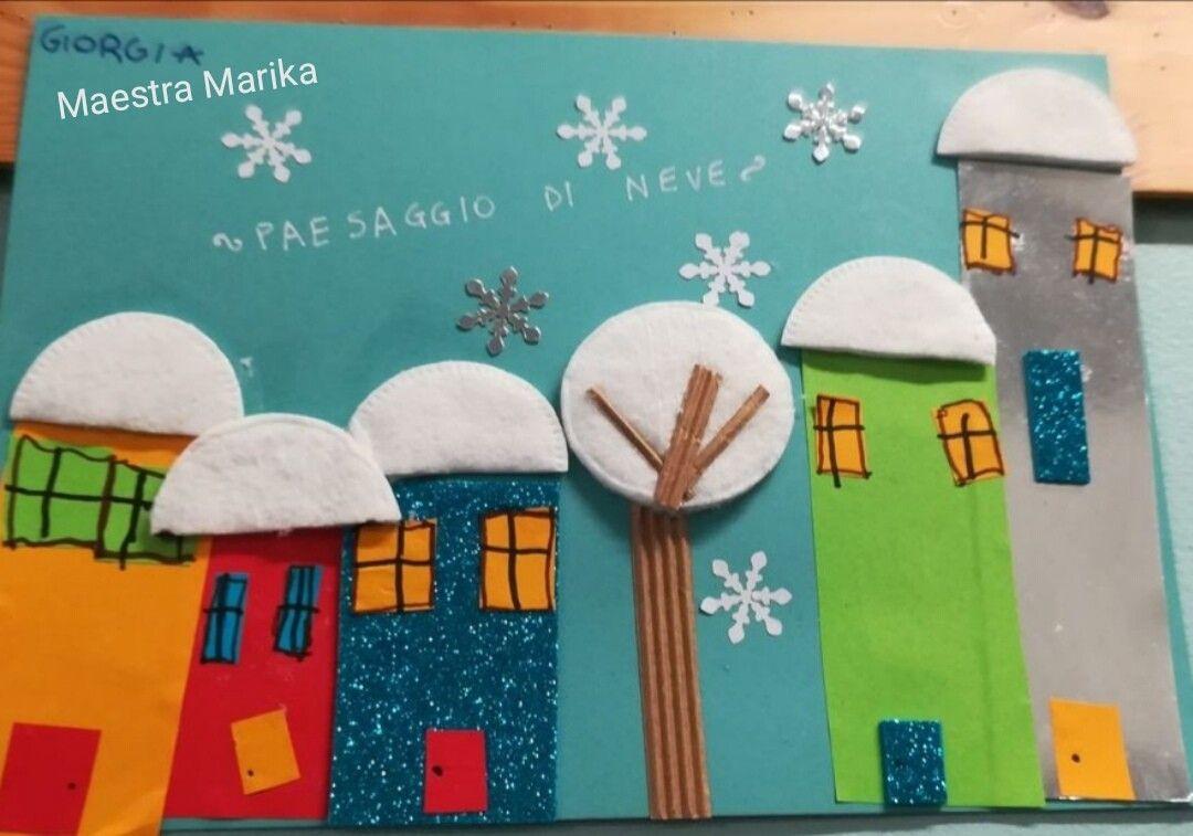 Decorazioni Invernali Scuola Infanzia Lavoretti Sull Inverno Per La