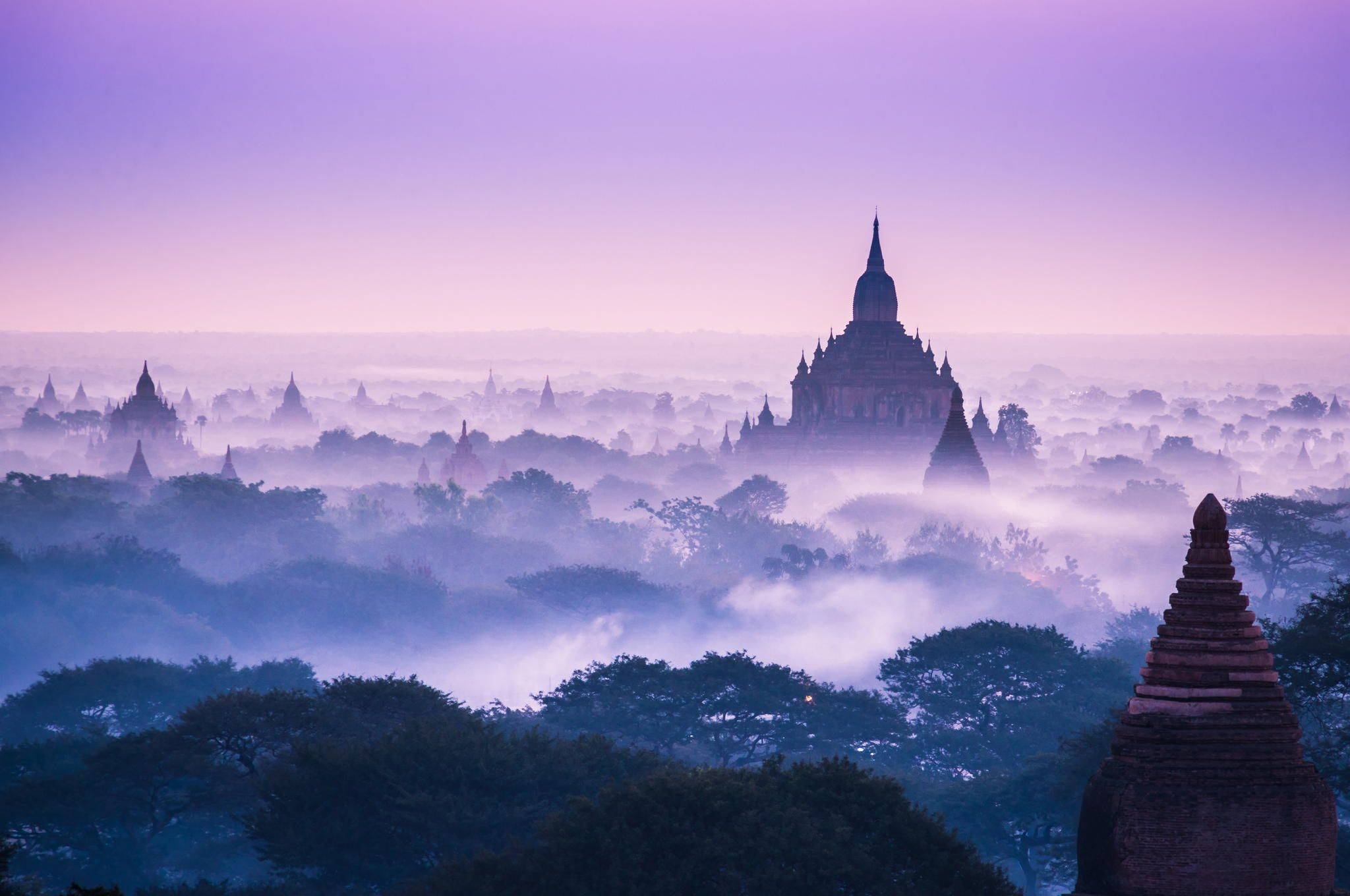 Misty Morning in Bagan by Zay Yar Lin on 500px