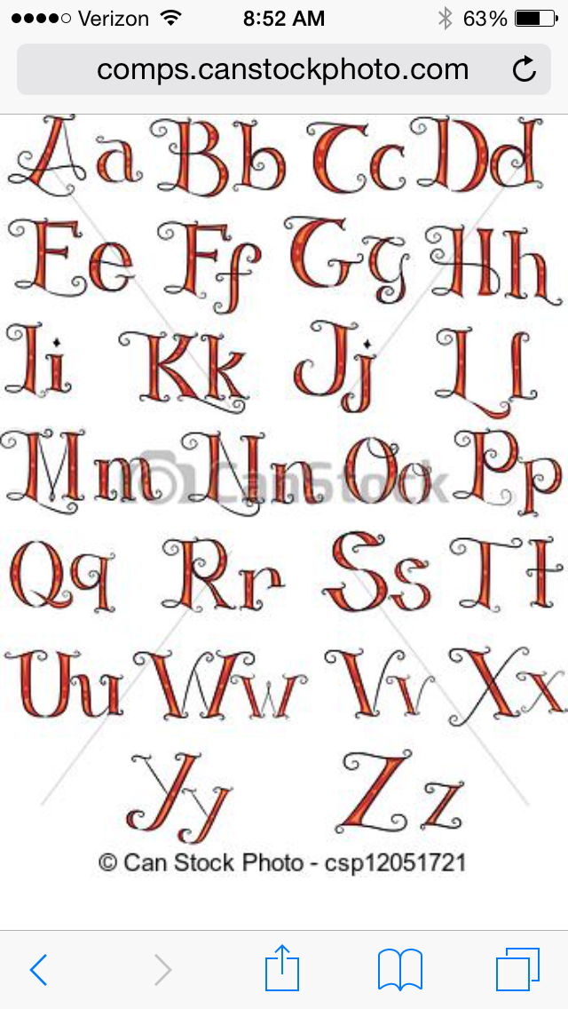 Discover Ideas About Font Styles Alphabet