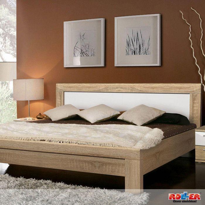 bett julietta: in diesem modernen schlafzimmer in der ... - Schlafzimmer Eiche Weis