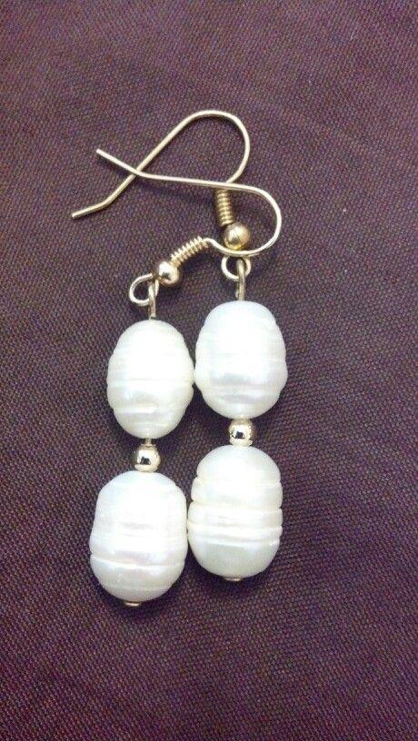 961f057a09 Aretes perlas de río