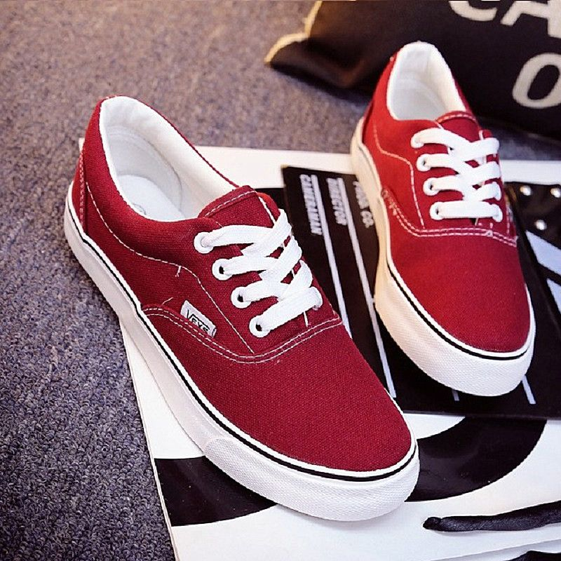 d23a732ba Mulheres moda Casual Shoes Skate Sapatos de Lona Feminino Plana Cesta Preto  Formadores Tenis Feminino TAMANHO 35-43