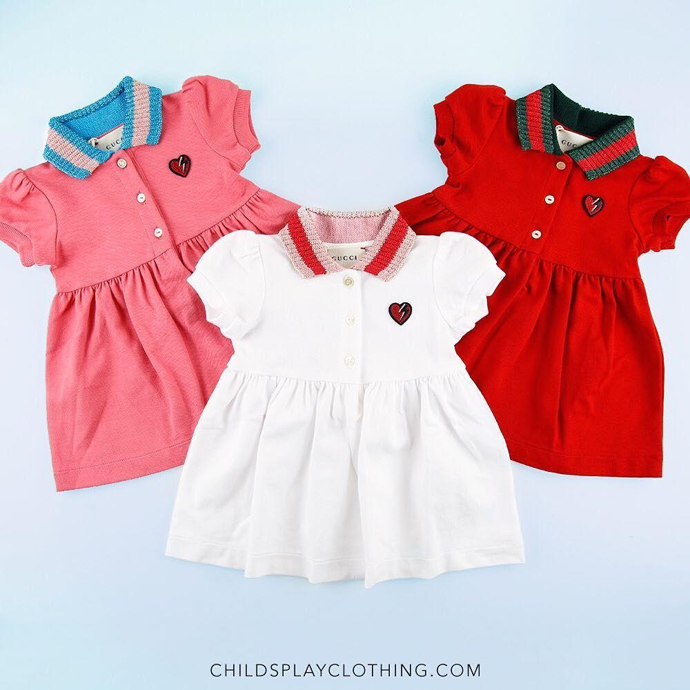 1f60f040be2 Wooww! 😍Beautiful Baby Girls Dresses ❤ ❤ #Gucci   LC Girl ...