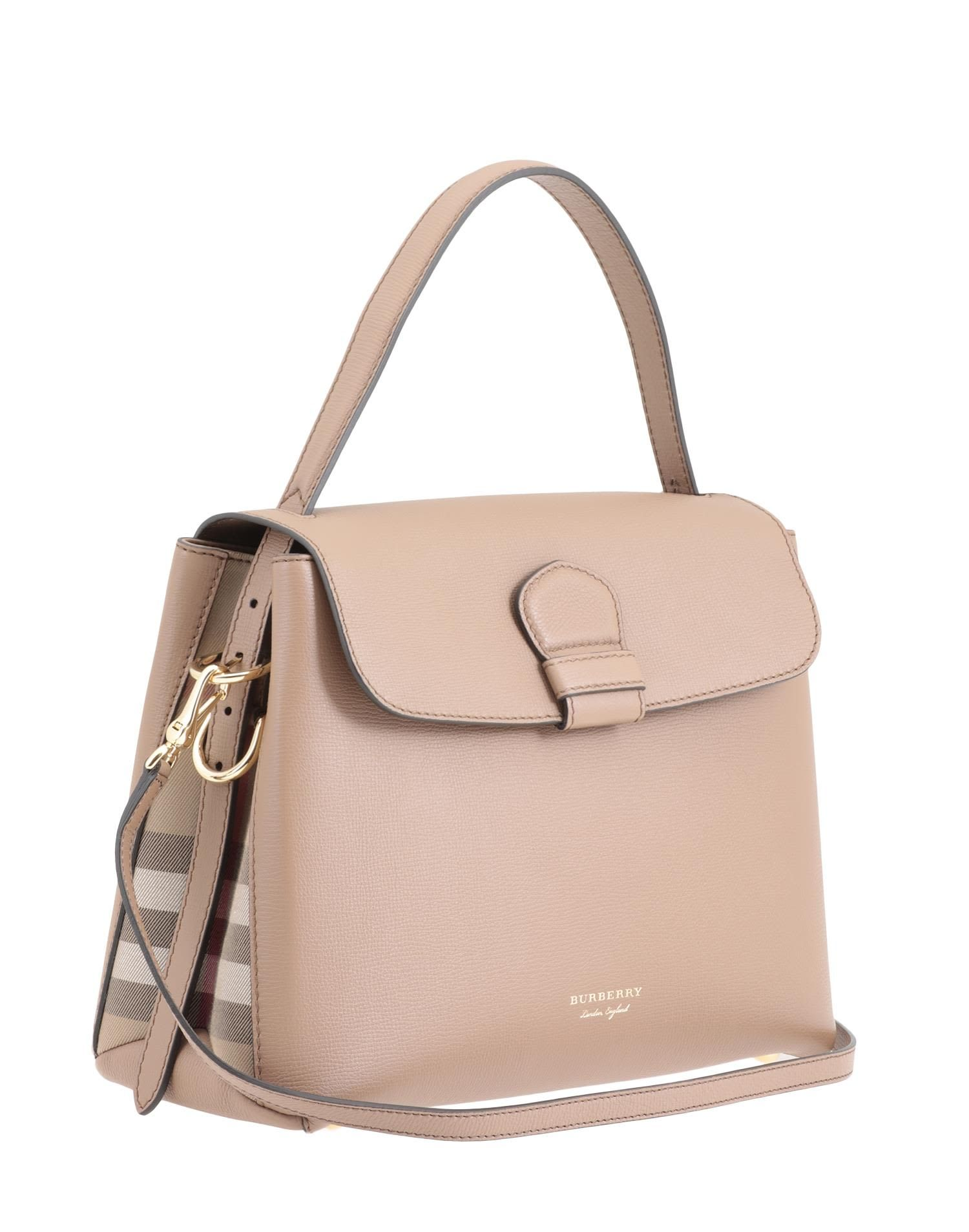 5fc0c16f5ce4 BURBERRY CAMBERLEY MEDIUM BAG.  burberry  bags  shoulder bags  hand bags   lining  leather  cotton