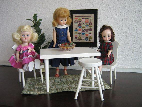 RESERVED FOR J Vintage Halls Lifetime Toys Modern White