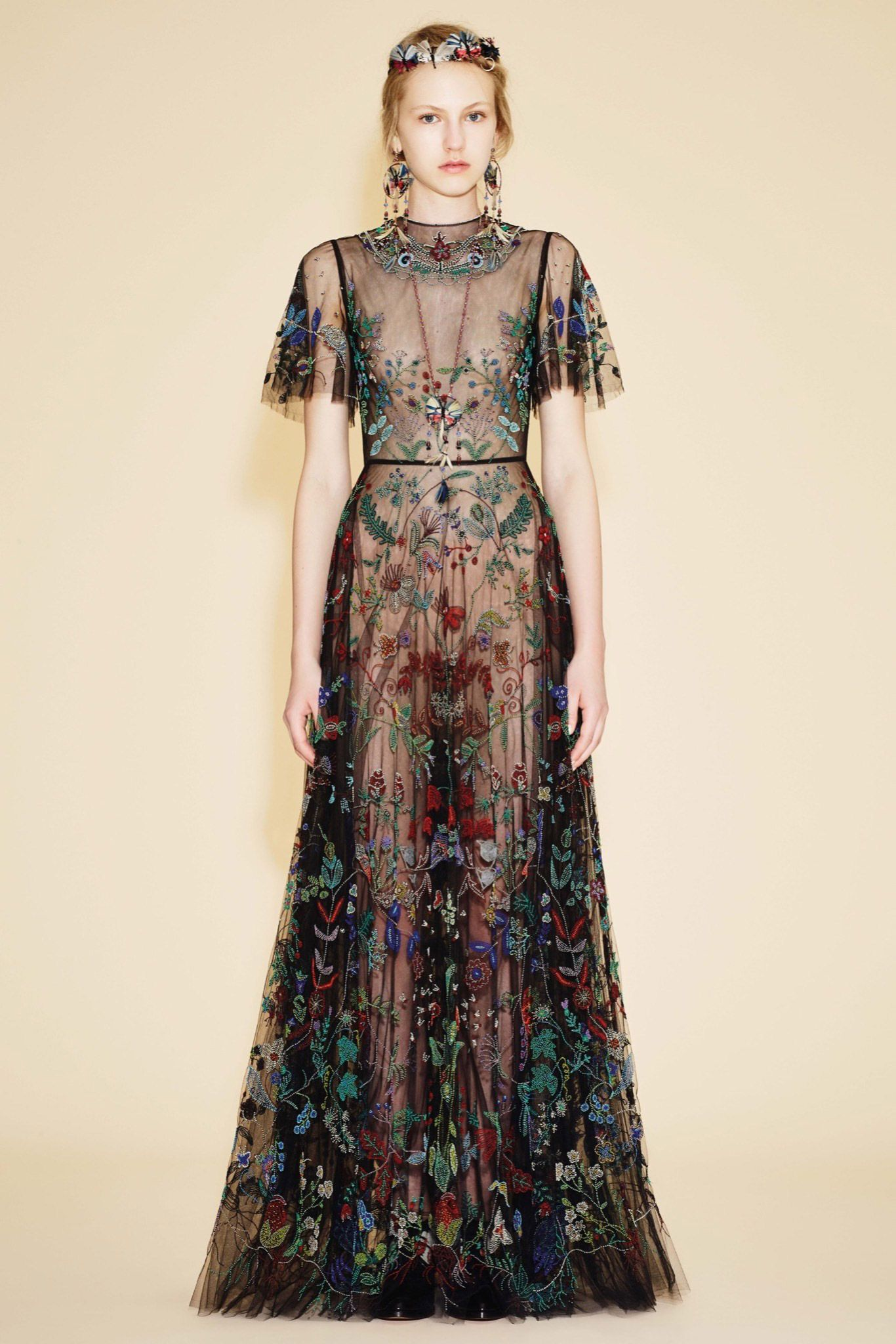 Valentino Resort 2016 - if there were a luxurious lining - perfection!