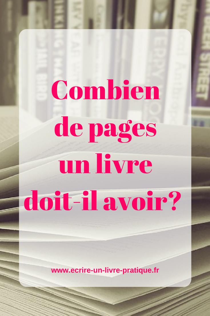 Combien de pages pour faire éditer mon roman? - Comment Ça