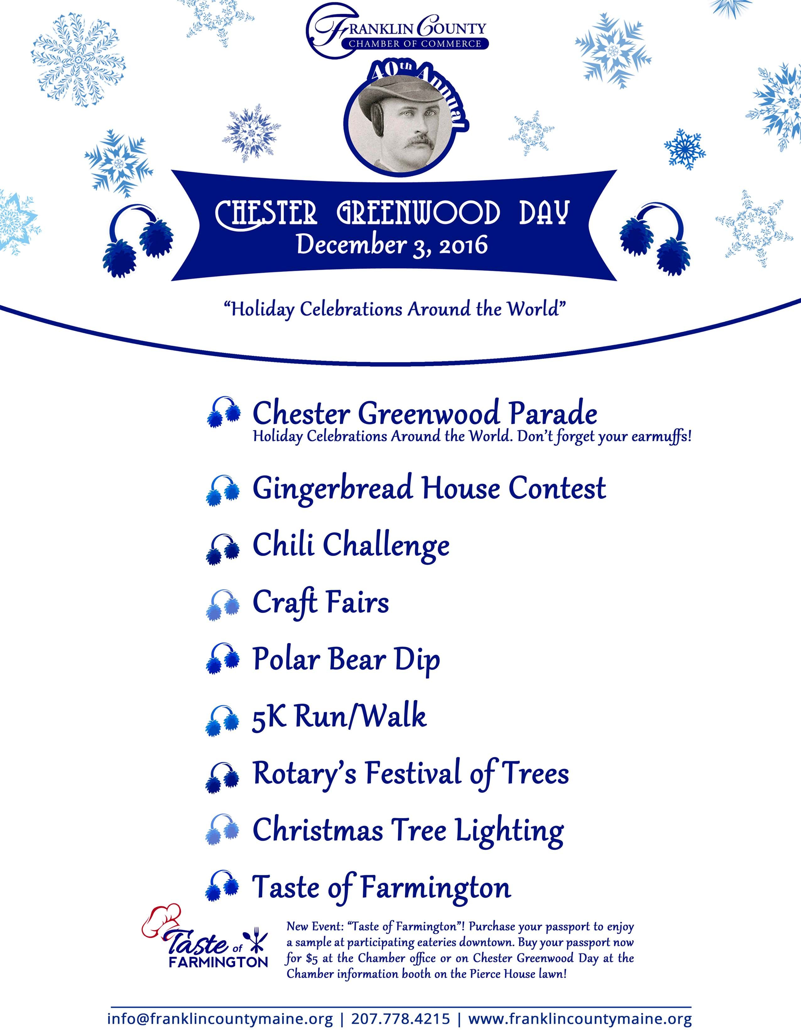 Pin by franklin county maine on Chester Greenwood Day   Holiday celebrations around the world ...