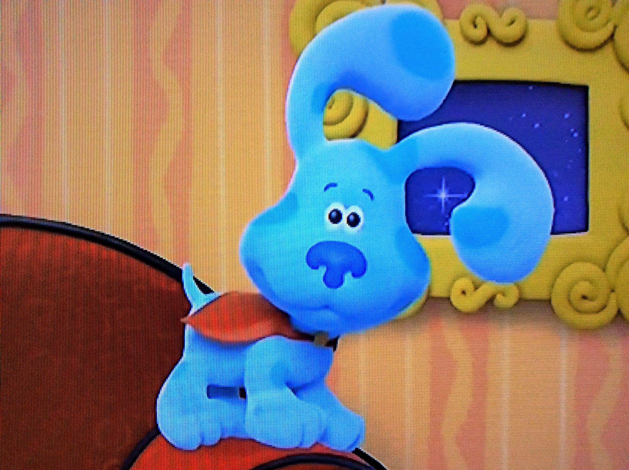 Super Blue Blues Clues Blue S Clues Clue