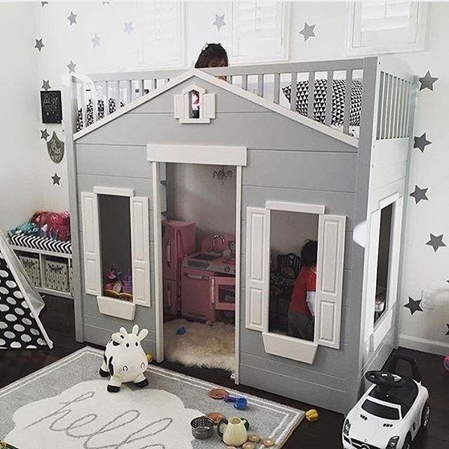 House Bed And Play Space Lastenhuoneideoita