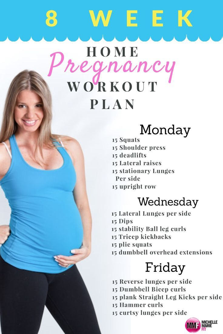 Monthly Home Pregnancy Workout - Michelle Marie Fit