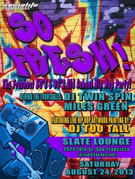 So Fresh Invite 90s Partaaaay Pinterest 40 birthday, Hip hop - fresh anniversary invitation font