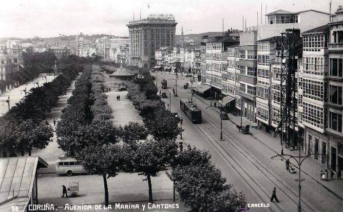 Cantón Grande La Coruña A Coruña Fotos Antiguas Fotos
