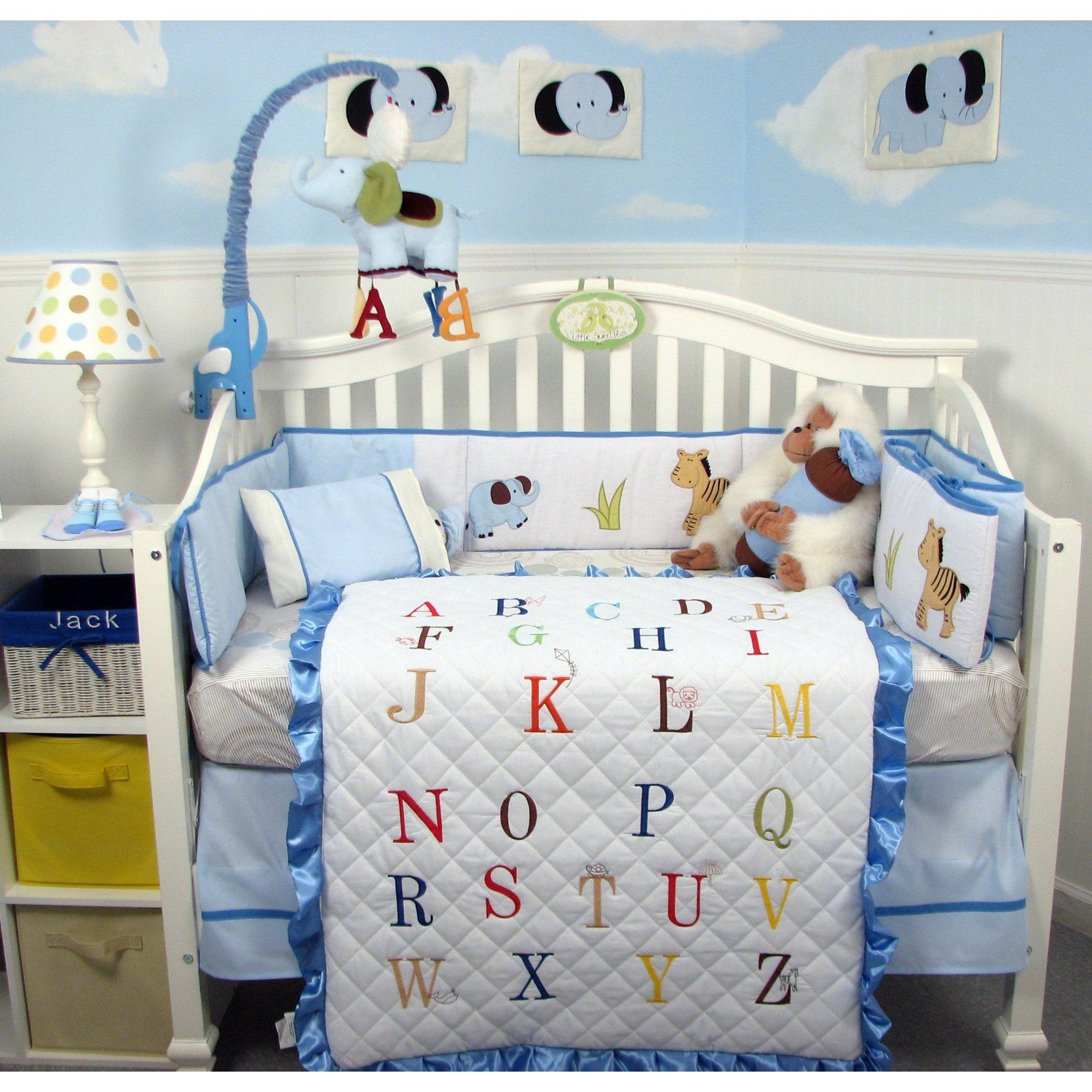 Baby Boy Cradle Bedding Sets