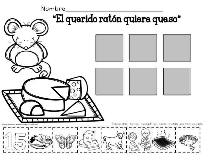 Letra Q Q Silabas Que Qui Spanish Learning Silabas Letras Y