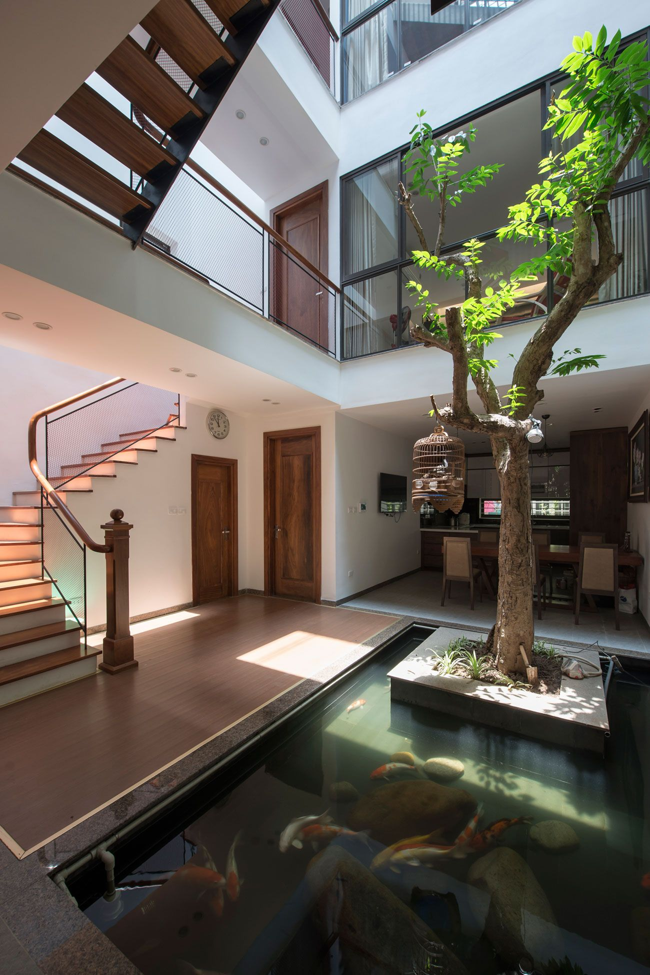 A Private Residence In Hanoi By Ihouse Architecture House Modern Architecture House House