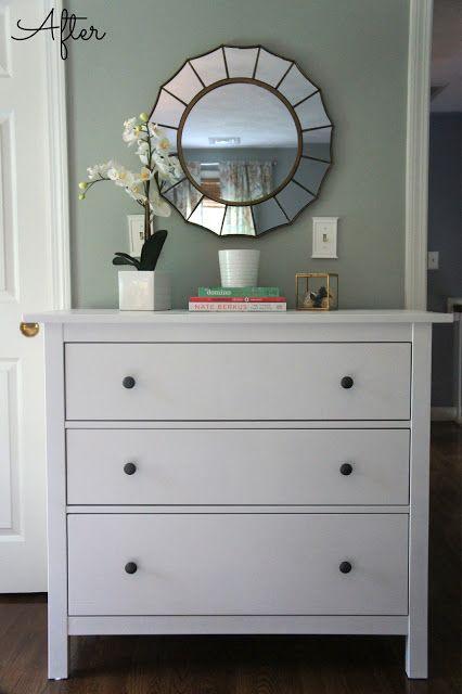 Ikea Hemnes Dresser Guest Bedroom Update For Room This Size Or Ger 6 Drawer