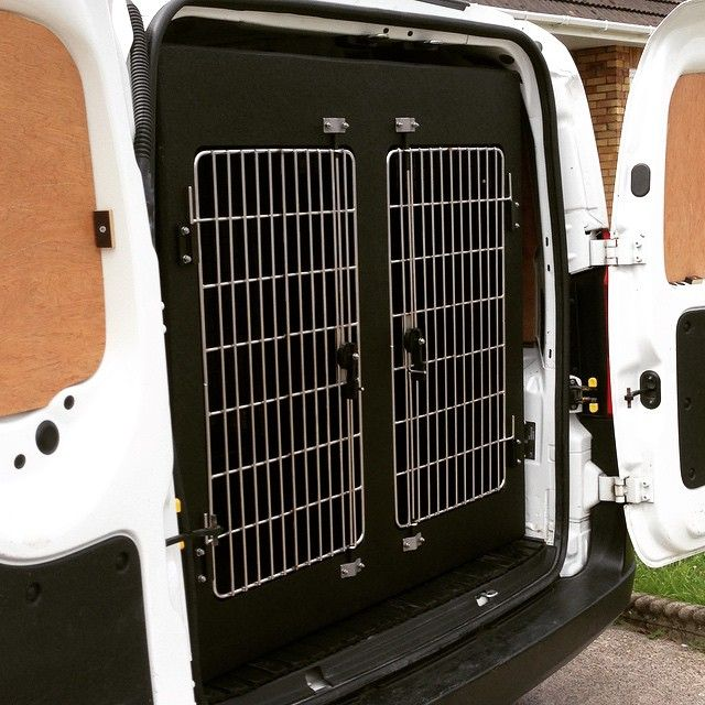 Carl Cheshire On Instagram Bespoke 3 Compartment Dog Van Conversion Fitted Into A Peugeot Bipper Dogvan Dogvanconver Van Conversion Van Vehicle Conversion