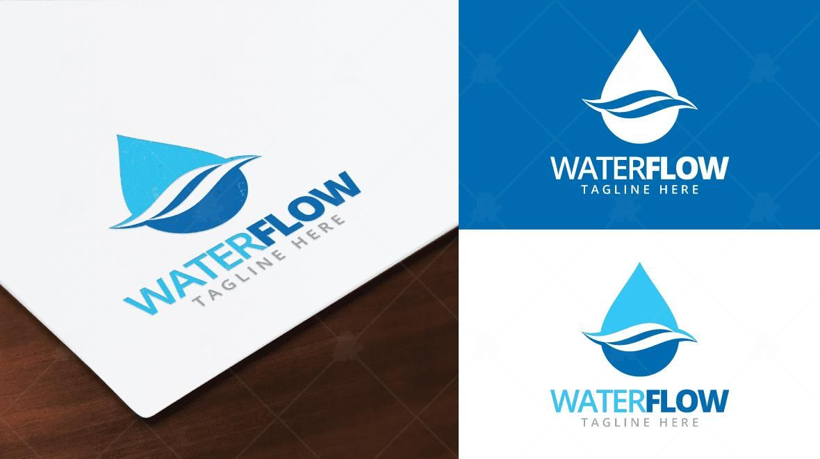 Water Flow Logo Template - Logos & Graphics | Chicago Faucets ...