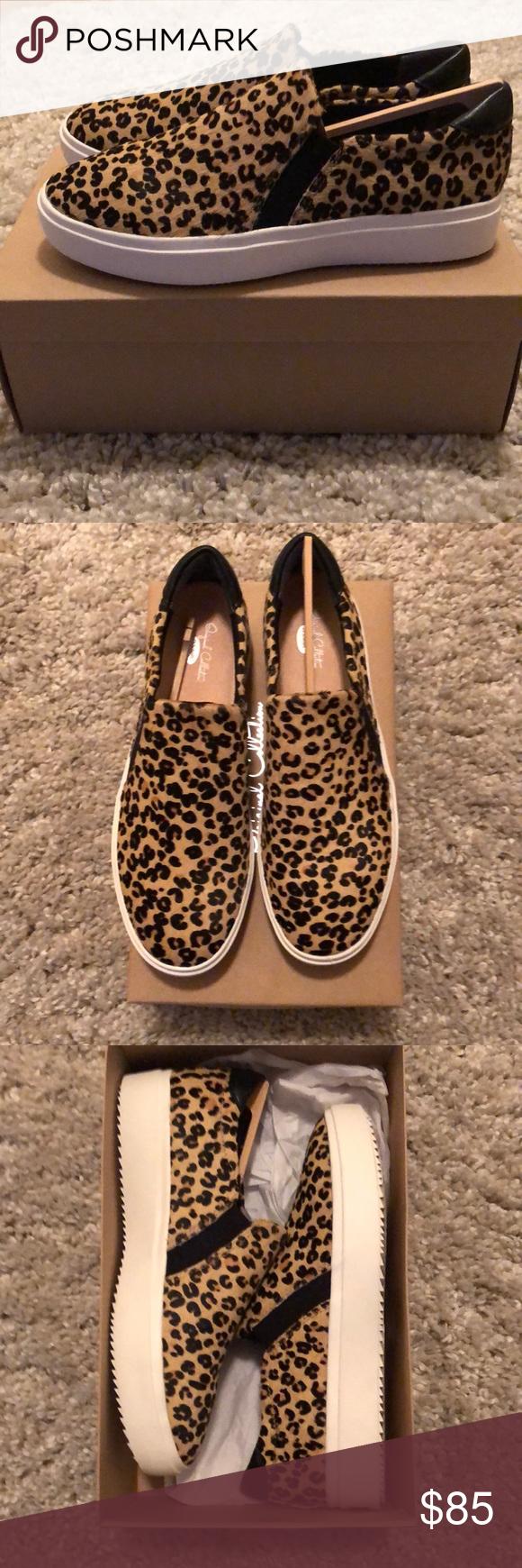 Leopard print slip on sneaker | Leopard
