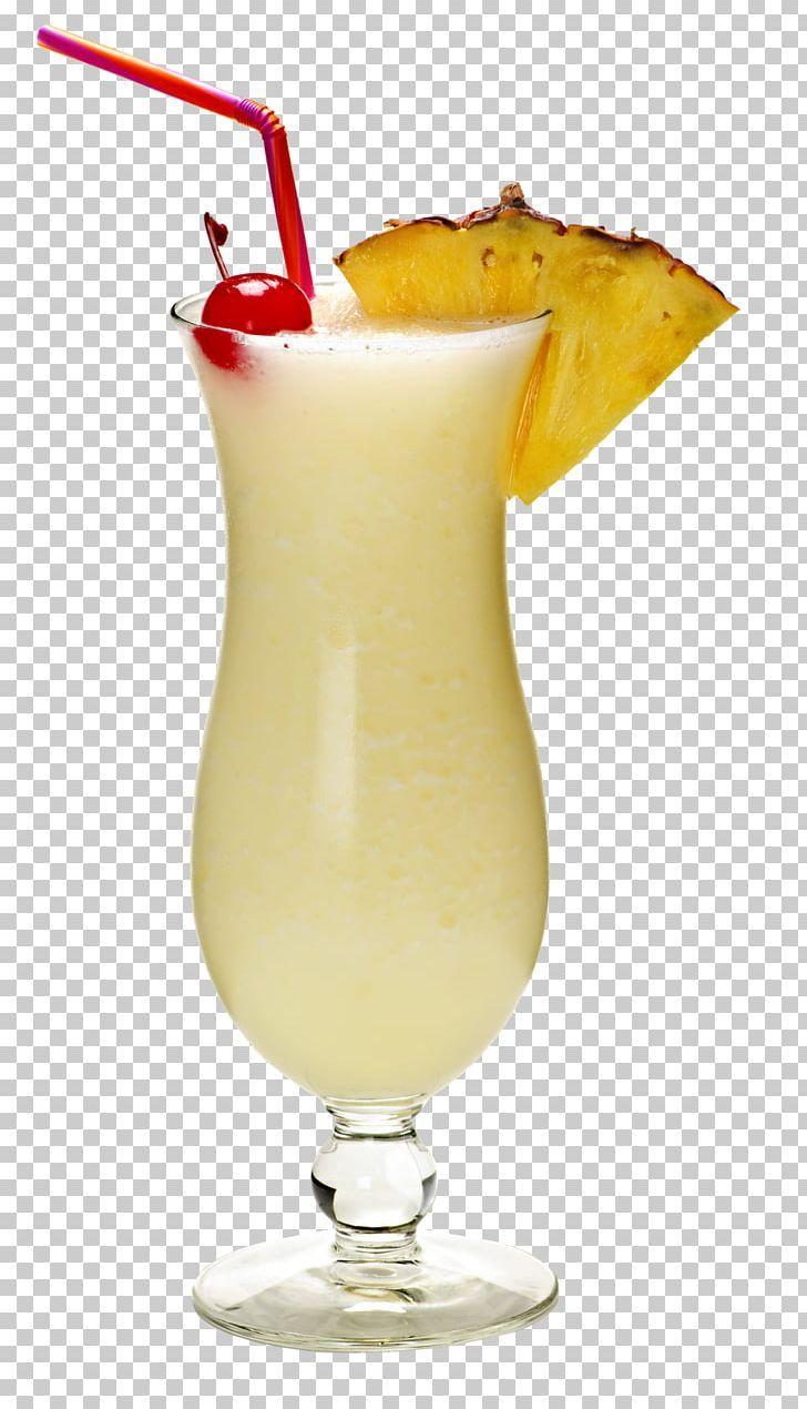 Piña Colada Cocktail Rum Hurricane Coconut Water PNG