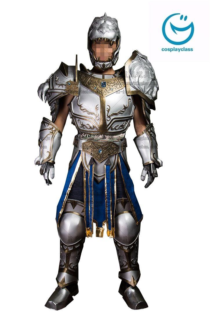 Warcraft Llane Wrynn I cosplay armour and helmet Invite # ...