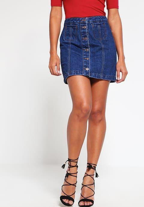 pretty nice 0d2b7 06226 LTB ELLIS - Gonna di jeans - ida wash - Zalando.it   moda ...