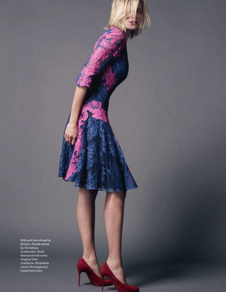 95919d50dd3d Cameron Diaz by David Slijper for Elle UK