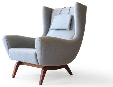 Great Illum Wikkelsø #110 Søren Willadsen Teak Easy Chair   Modern   Armchairs    Scandinavian.