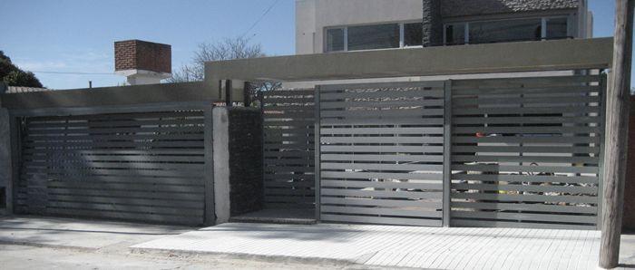 Portones corredizos buscar con google ideas de for Portones para garage