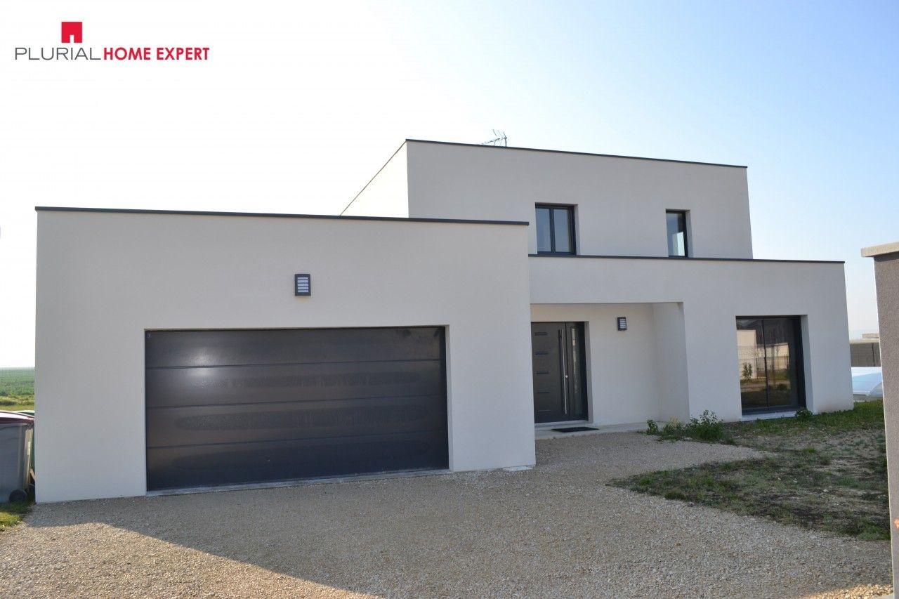 La riviere de corps maison contemporaine design maison maison moderne et plan maison - Petite maison toit plat ...