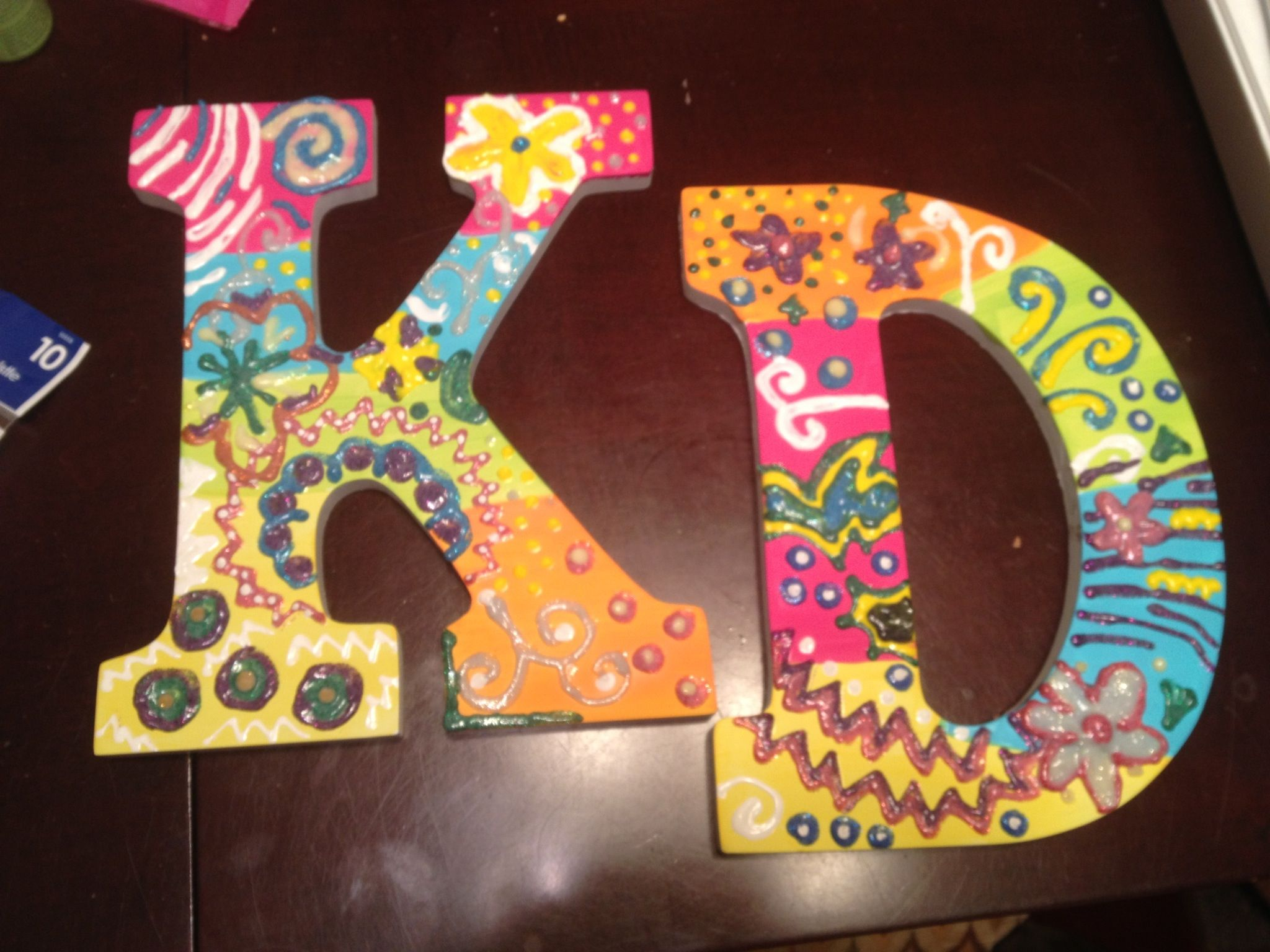 kd wall letters