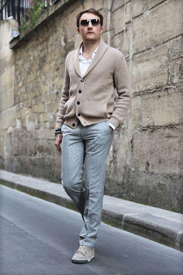 Pantalon en flanelle de laine Vitale Barberis Canonico  c11bd7fe01f