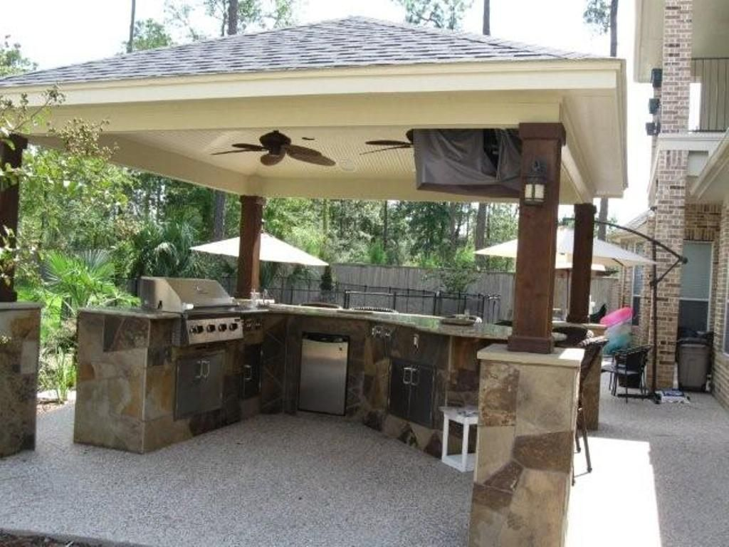 135 Outdoor Kitchen Ideas And Designs For 2019: Outdoor Kitchen Designs Slodive Backyard Garden Design
