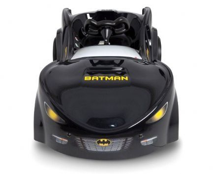 brand new batman batmobile in black with electric 6v power batman carkids