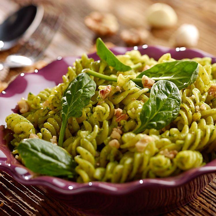 Makaron Z Pesto Ze Szpinaku Przepis Recipe Pesto Recipe Pasta Recipes Pesto