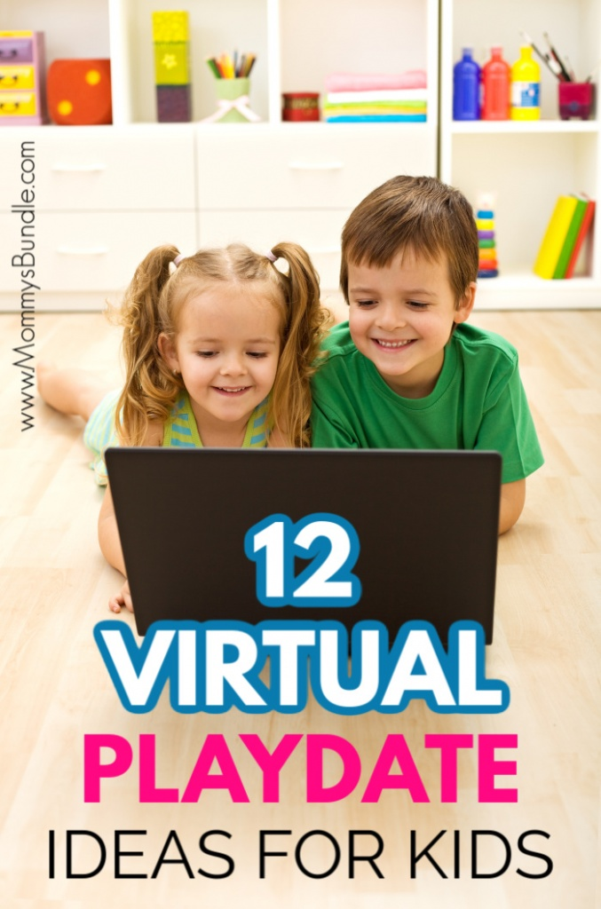Virtual Playdate Ideas for Keeping Kids at a Safe Distance