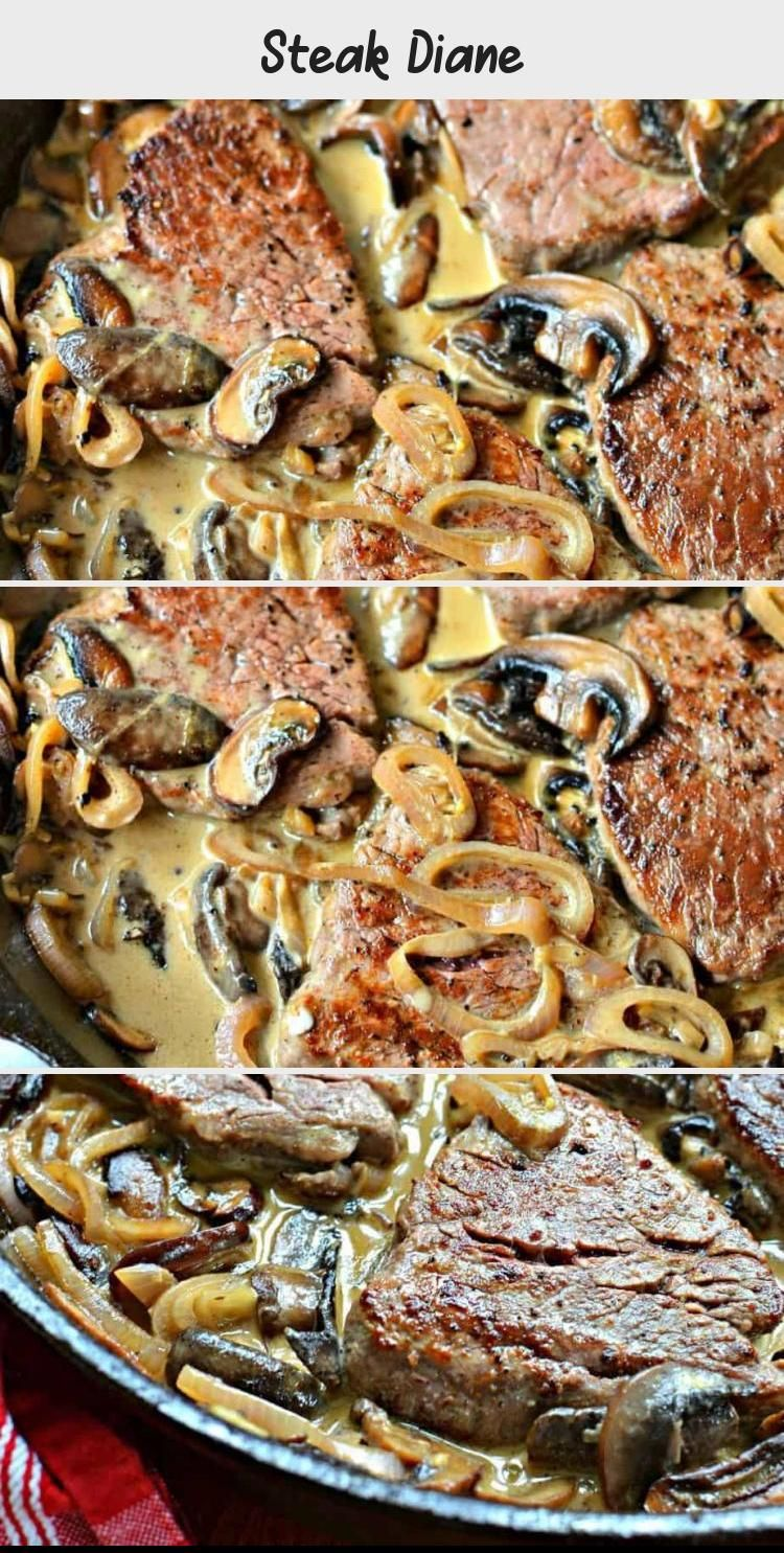 Photo of An easy Steak Diane recipe made in one pan in about 15 minut…