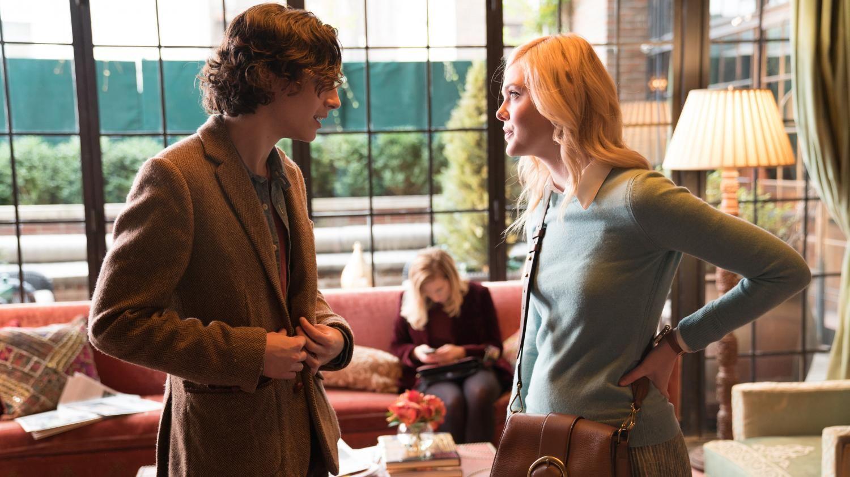 Un Jour De Pluie A New York Pourquoi Le Dernier Film De Woody Allen Prive De Sortie Aux Etats Unis Es Fr Elle Fanning New York Movie Timothee Chalamet