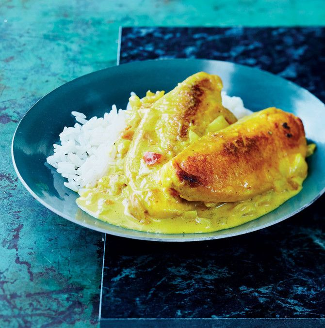 Kermainen Quorn-curry