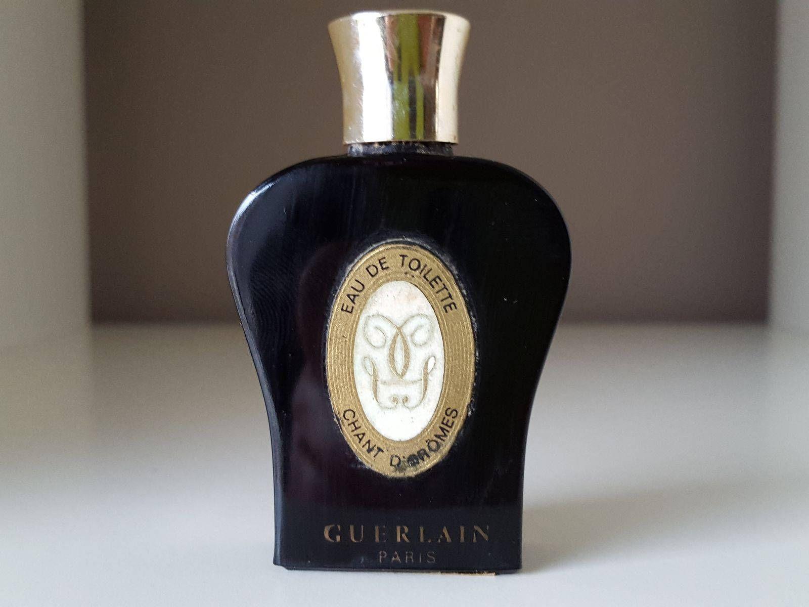 Guerlain Miniature Lyre Noir D'arôme Chant Parfum Échantillon 1962 nPk80wO