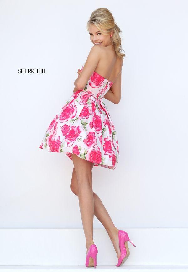 Sherri Hill 50329 | Cute Girl 2 | Pinterest | Vestidos cortos de ...