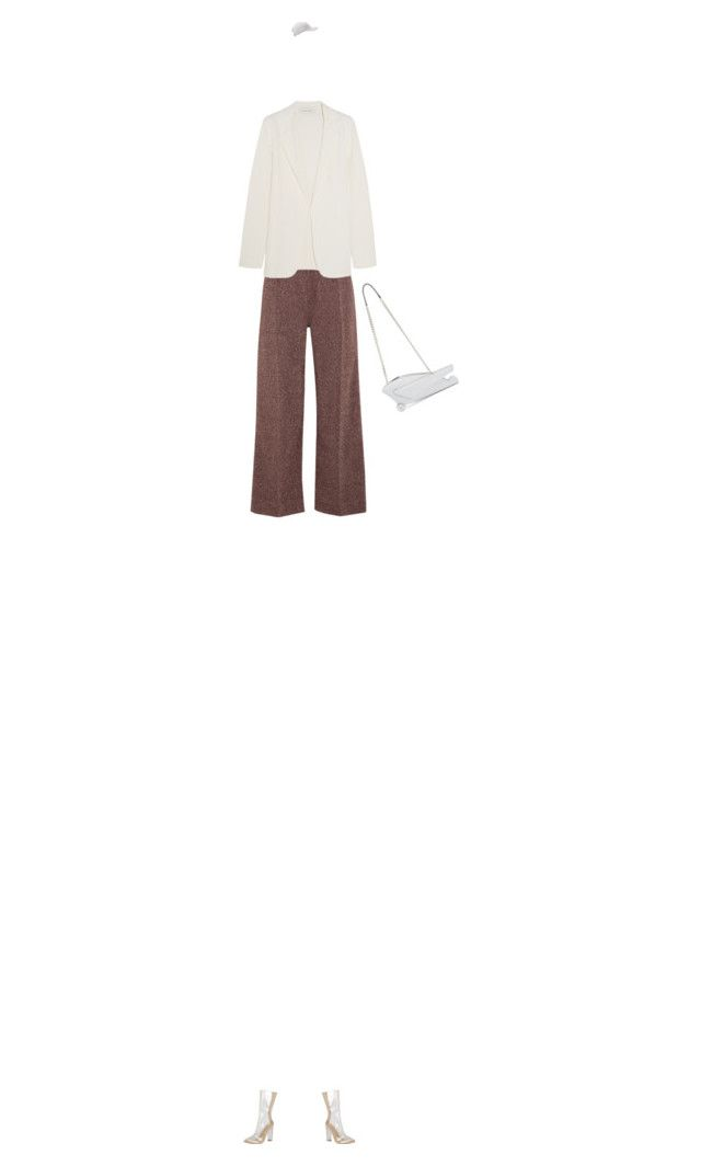 """""""elegant"""" by ines-armandine ❤ liked on Polyvore featuring J.W. Anderson, Isa Arfen, Cédric Charlier, summerdate and rooftopbar"""