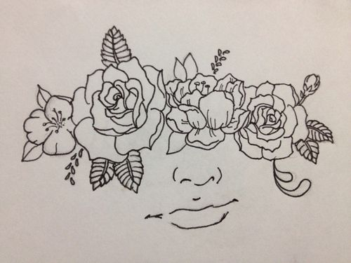 flower sketches tumblr - Google Search | Tattoo ...