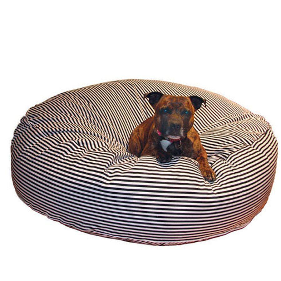 RSPCA World for Pets Black& White Striped dog Bed