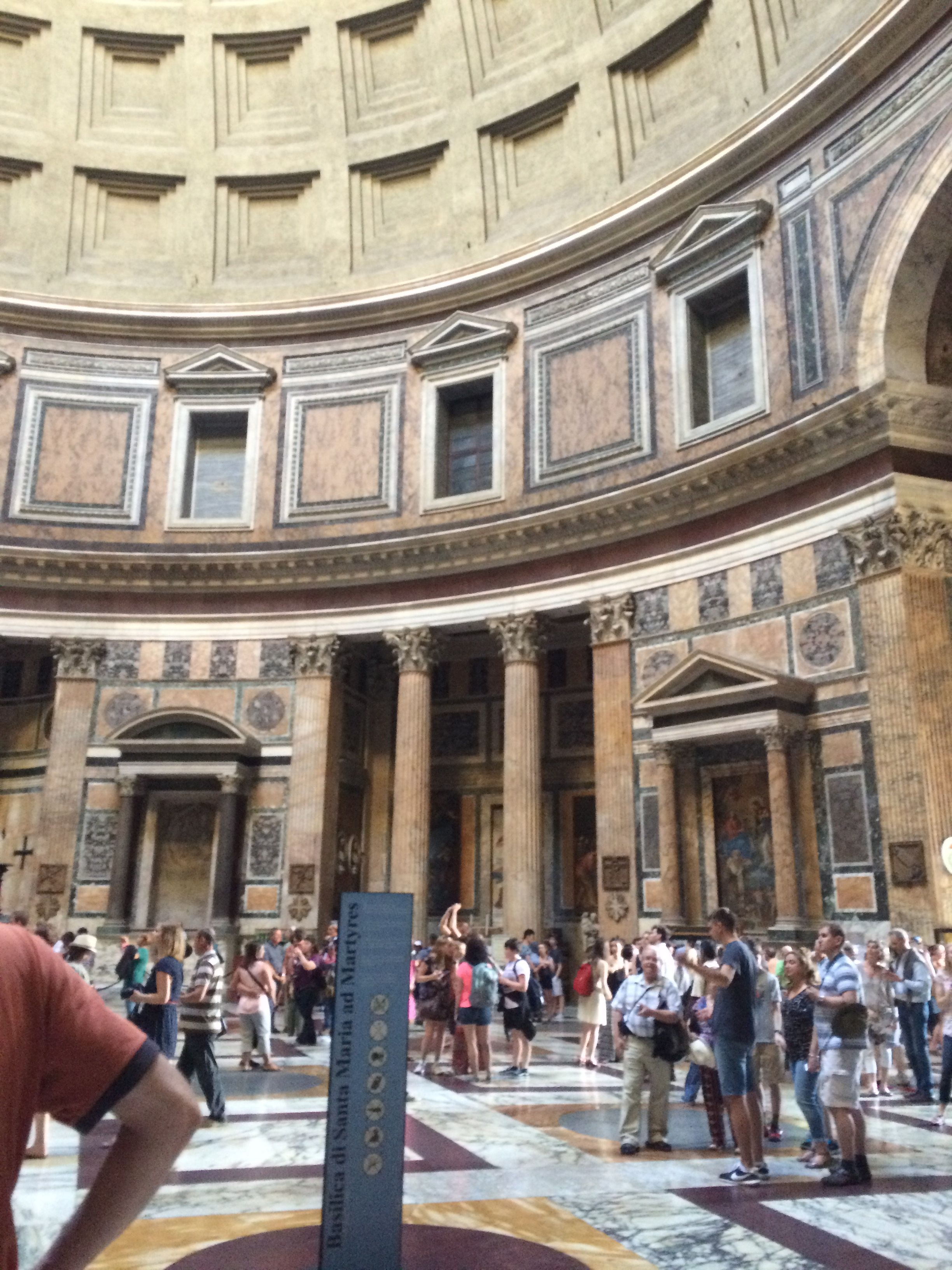 Another pic inside the Pantheon