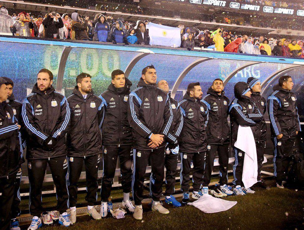 Argentina venció a Ecuador en Nueva Jersey