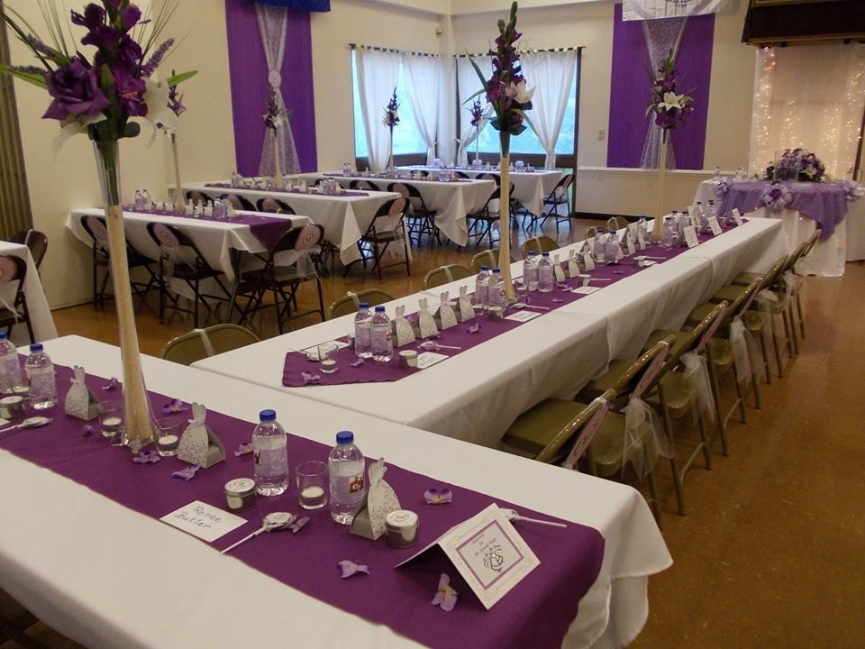 Wedding reception hall  (10/11/14)
