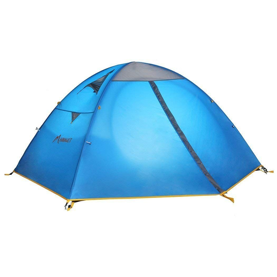 2-Person Camping Tent Easy Pop-Up Waterproof Travel Outdoor Hiking Fishing Tent
