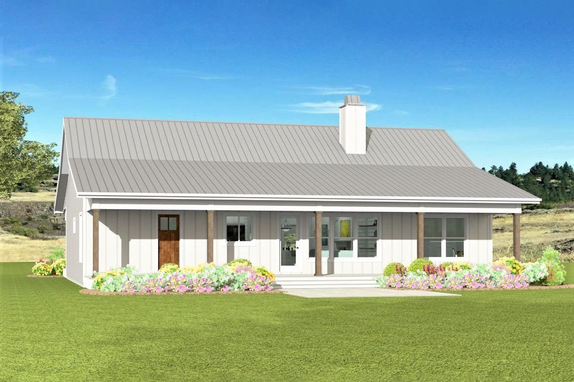 Plan 28939jj Budget Friendly Fresh Start House Plan In 2020 Metal Building House Plans Architectural Design House Plans Barn House Plans